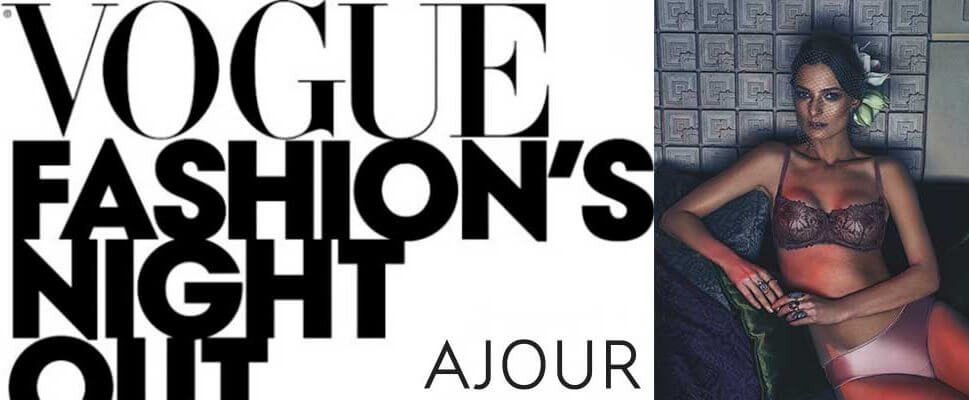 Vogue Fashion Night Out 2017 from AJOUR – shopping for fashionistas