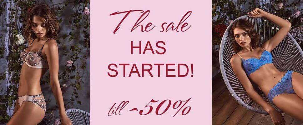 The sale HAS STARTED!
